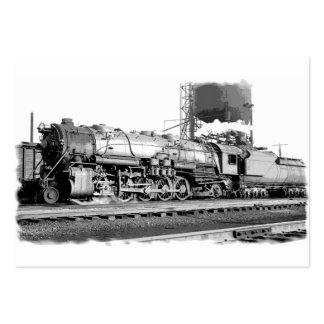 Arte del ferrocarril de B&O Tarjetas De Visita Grandes