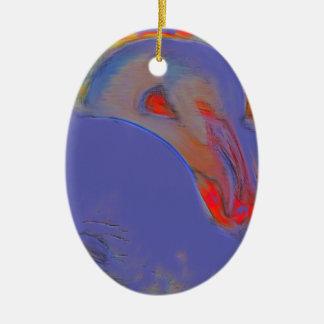 Arte del flamenco ornamento para arbol de navidad