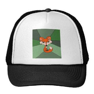 Arte del Fox rojo Gorro