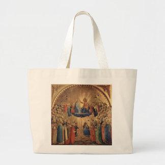 Arte del Fra Angelico Bolsa Tela Grande