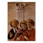 Arte del Fra Angelico Felicitacion
