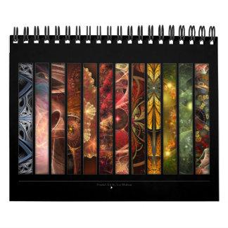 Arte del fractal calendario