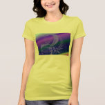 arte del fractal camisetas