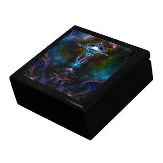 Arte del fractal de Ansarious de la estación espac Caja De Recuerdo