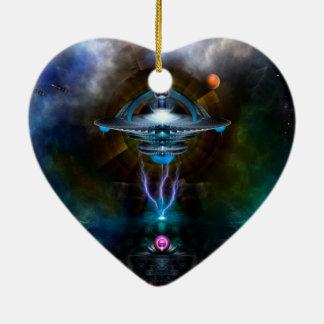 Arte del fractal de Ansarious de la estación espac Adornos