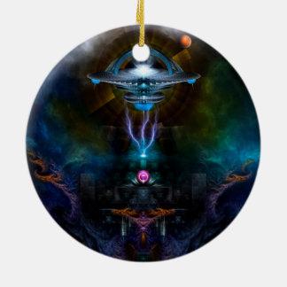 Arte del fractal de Ansarious de la estación espac Ornamentos De Reyes