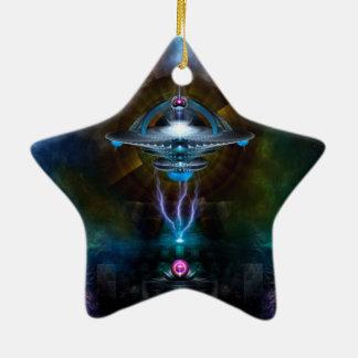 Arte del fractal de Ansarious de la estación espac Adorno De Reyes