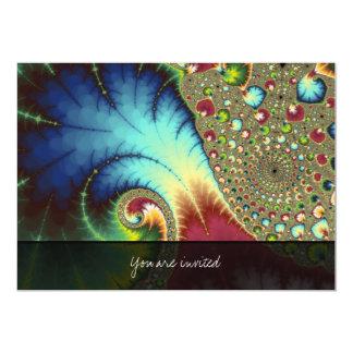 Arte del fractal de Joanie 50 Invitación