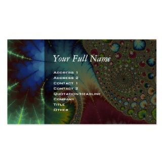 Arte del fractal de Joanie 50 Plantillas De Tarjetas Personales