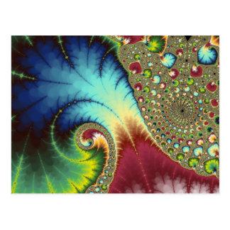 Arte del fractal de Joanie 50 Tarjetas Postales
