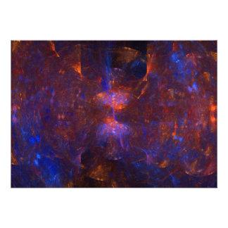 Arte del fractal de la cueva del reloj de arena