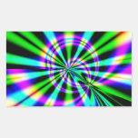 Arte del fractal de la noria rectangular altavoz