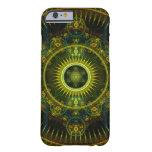 """""""Arte del fractal de la rueda de Magick de Funda De iPhone 6 Barely There"""