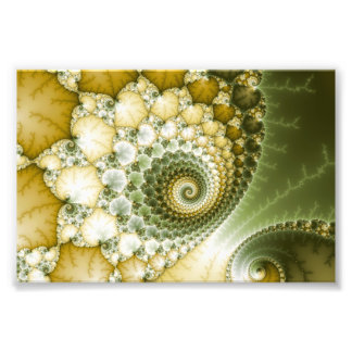 Arte del fractal de las escalas fotografia