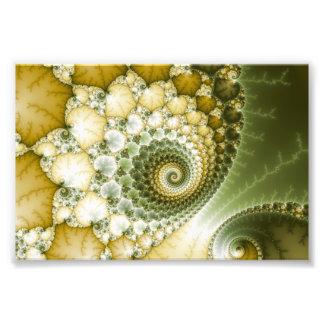 Arte del fractal de las escalas fotografía