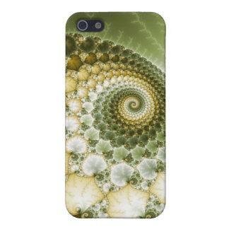 Arte del fractal de las escalas iPhone 5 fundas