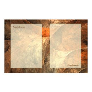 Arte del fractal de las riquezas del otoño  papeleria