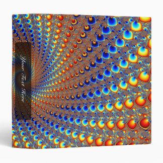 "Arte del fractal de Monterey Carpeta 1 1/2"""