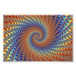 Arte del fractal de Monterey Impresiones Fotográficas