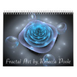 Arte del fractal de Rebecca Poole Calendario