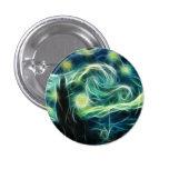Arte del fractal de Van Gogh de la noche estrellad Pin