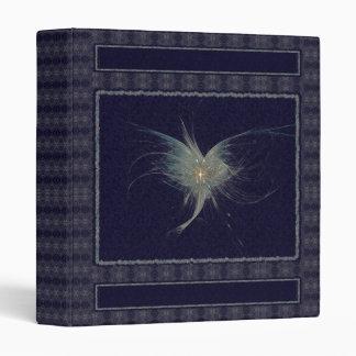 Arte del fractal del ángel del invierno