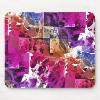 Arte del fractal del Apophysis - tela de araña Alfombrillas De Raton