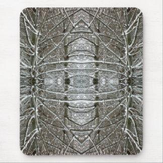 Arte del fractal del extracto del caleidoscopio tapetes de ratón