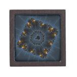 Arte del fractal del merodeador de la noche cajas de joyas de calidad