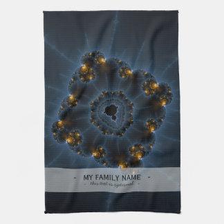 Arte del fractal del merodeador de la noche toallas