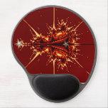 Arte del fractal en un mousepad alfombrilla de raton con gel