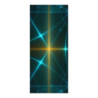 Arte del fractal invitación 10,1 x 23,5 cm