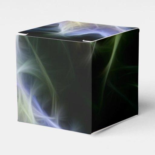 Arte del fractal paquetes de regalo para bodas