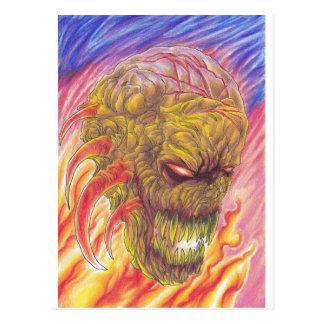Arte del fuego del demonio postal
