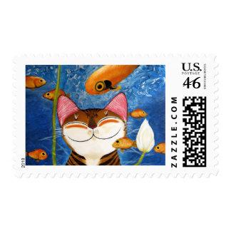arte del gato - agua (5 elementos) franqueo