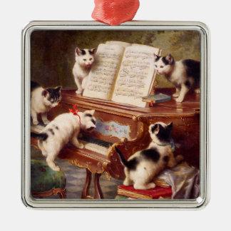 Arte del gato del vintage:  El decreto de los Adorno De Reyes