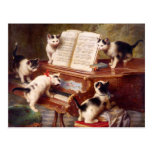 Arte del gato: El decreto del gatito Tarjetas Postales