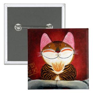 arte del gato - fuego (5 elementos) pin