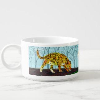 Arte del gato grande de Jaguar Tazón