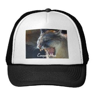 Arte del gato grande del león de montaña del puma gorras