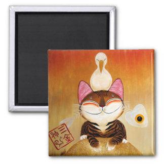 arte del gato - metal (5 elementos) imanes