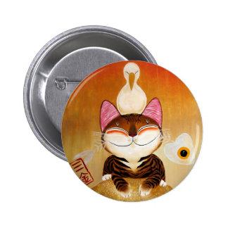 arte del gato - metal (5 elementos) pins