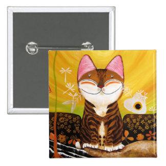arte del gato - tierra (5 elementos) pin