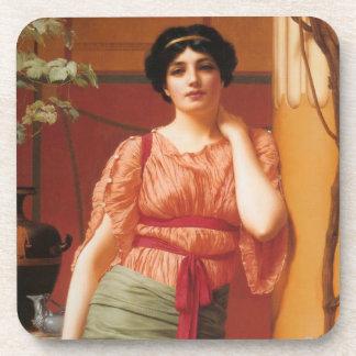 Arte del Griego de Nerissa Posavasos De Bebidas