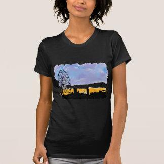 Arte del horizonte del ojo de Londres, regalos ust Camisetas