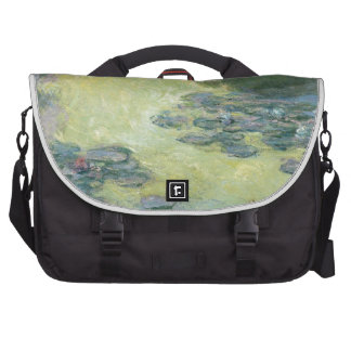 Arte del impresionista de la pintura del lirio de bolsa de ordenador