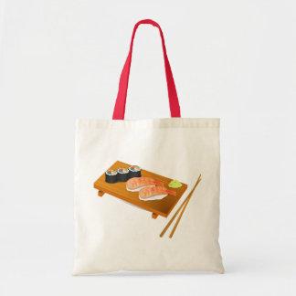 Arte del japonés del sushi bolsa tela barata