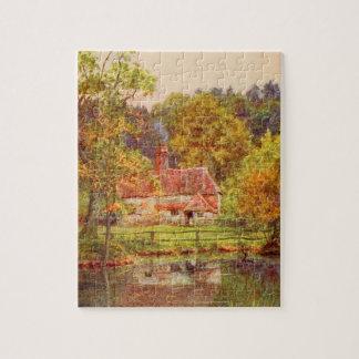 Arte del jardín del vintage - Allingham, Helen Rompecabeza