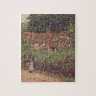 Arte del jardín del vintage - Allingham, Helen Rompecabezas
