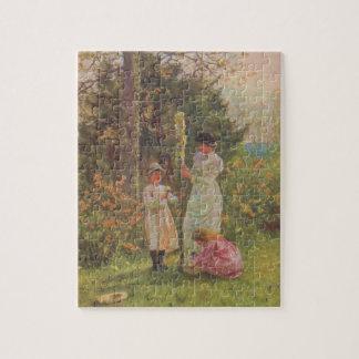 Arte del jardín del vintage - Allingham, Helen Puzzle Con Fotos
